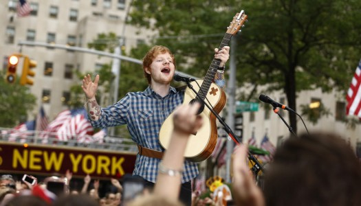"Ed Sheeran's ""Thinking Out Loud,"" Fall Out Boy's ""Centuries"" Go Top 15 at Pop"