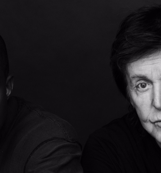 Kanye West and Paul McCartney by Inez and Vinoodh