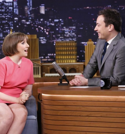 Lena Dunham on Tonight Show