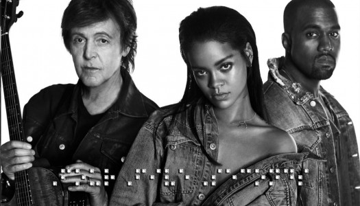 "Rihanna's ""FourFiveSeconds"" Repeats as Most-Added at Pop, Rhythmic"