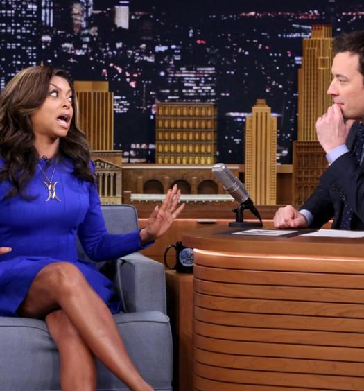 Taraji P Henson - Tonight Show (NBC)