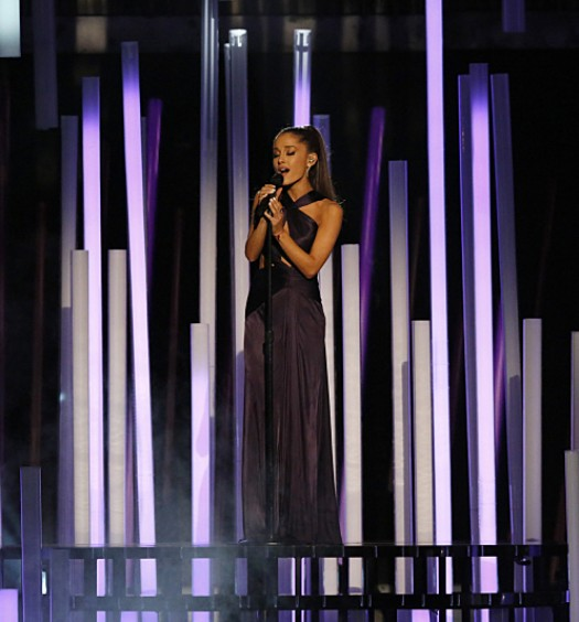 Ariana Grande at the Grammys