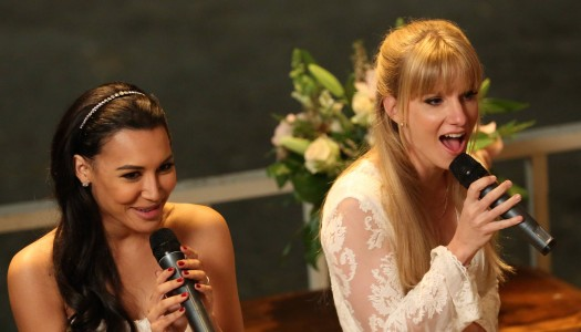 "FOX Gives a Special Look at Glee's Big ""Brittana"" Wedding"