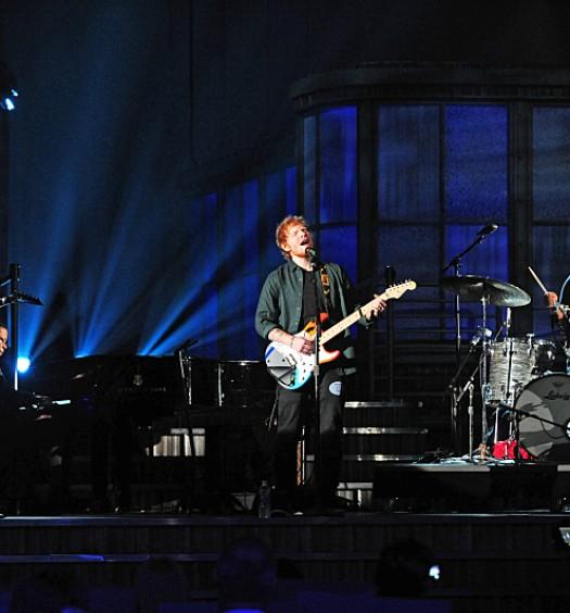John Mayer Ed Sheeran - Grammys - 2