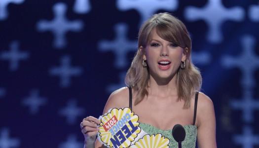 "Taylor Swift's ""New Romantics"" Officially Reaches Pop Radio's Top 20"