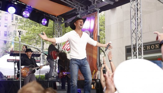 """Tim McGraw Performing On NBC's """"The Tonight Show Starring Jimmy Fallon"""""""