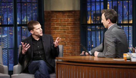 """Jesse Eisenberg, Tatiana Maslany Scheduled For """"Late Night With Seth Meyers"""""""