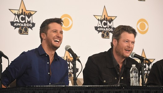 "Blake Shelton's ""Forget,"" Luke Bryan's ""Huntin'"" Reach Top 10 on MB Country Radio Chart"