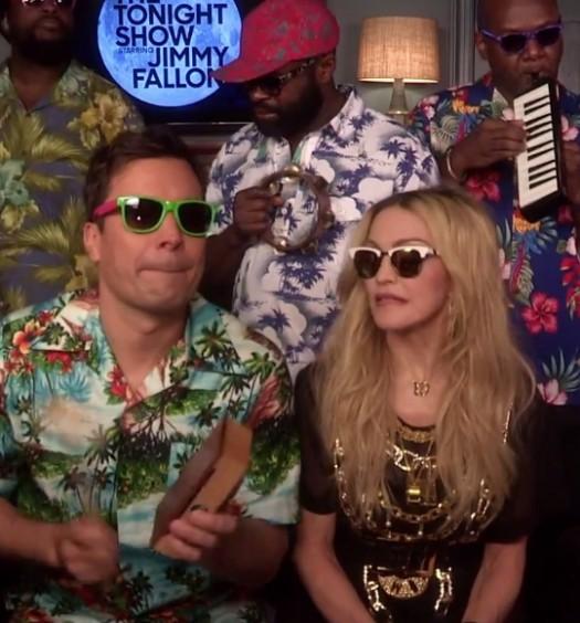 Madonna Tonight Show