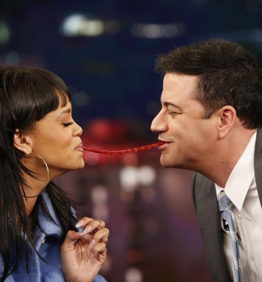 Rihanna Jimmy Kimmel [ABC]