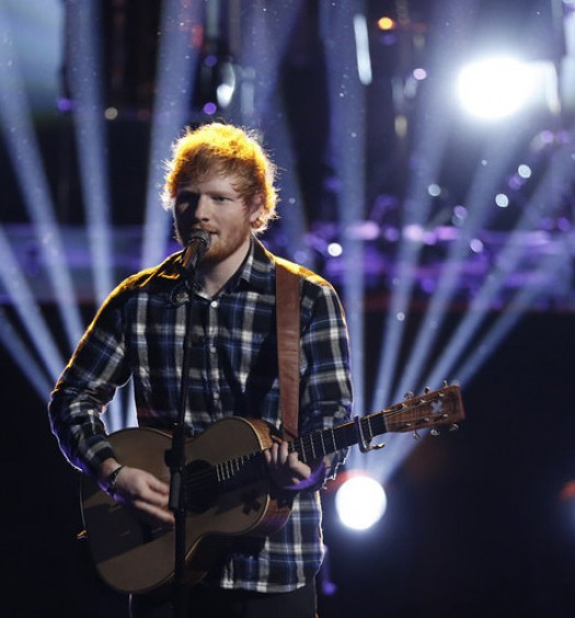 Ed Sheeran [Cr: NBC]