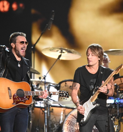 Keith Urban Eric Church (CBS)