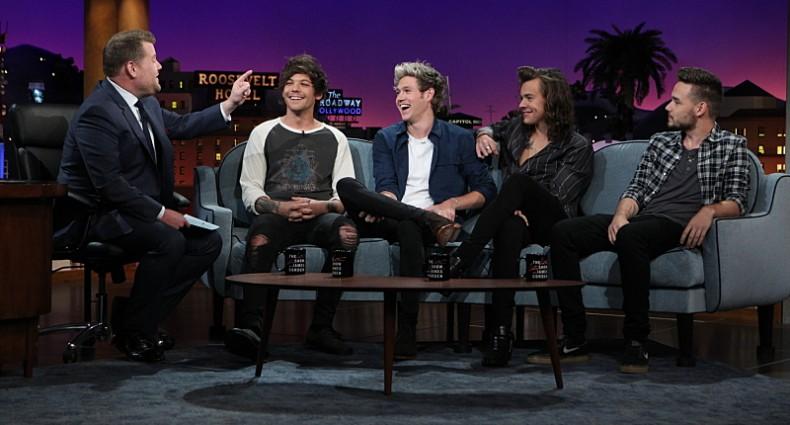 One Direction - Corden - CBS