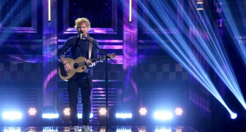 Ed Sheeran (Tonight Show | NBC)