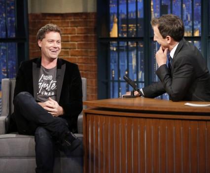 Late Night with Seth Meyers - Seth MacFarlane, Bella Thorne, Greg Poehler