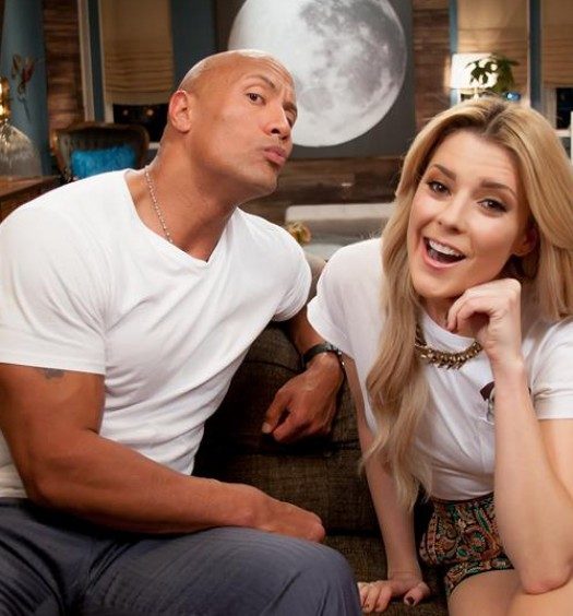 The Rock Grace Helbig