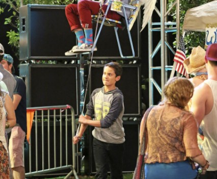 First Look Andy Grammer Visits Disney Channel S Quot Liv And