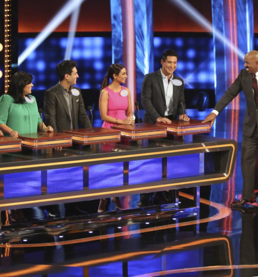 ALEX LOPEZ, GINA KRAMER, DAMIAN MAZZA, COURTNEY LOPEZ, MARIO LOPEZ, STEVE HARVEY