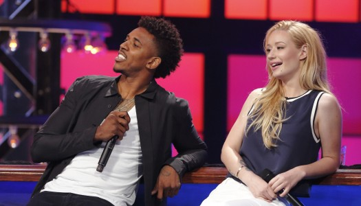 "First Look: Iggy Azalea, Nick Young Compete on ""Lip Sync Battle"""