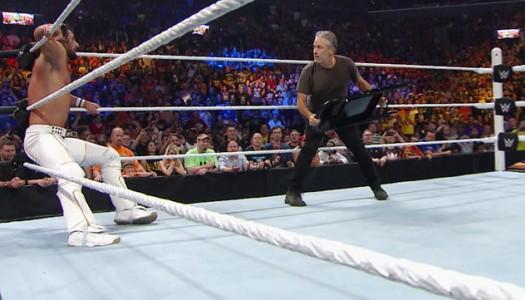 Jon Stewart Helps Seth Rollins Beat John Cena, Win Titles at WWE Summerslam
