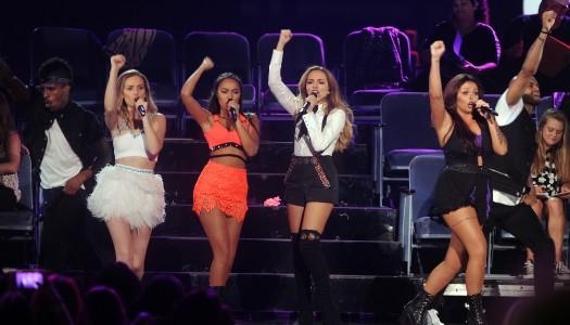 """Get Weird"" Becomes Little Mix's First Multi-Platinum Album In UK"