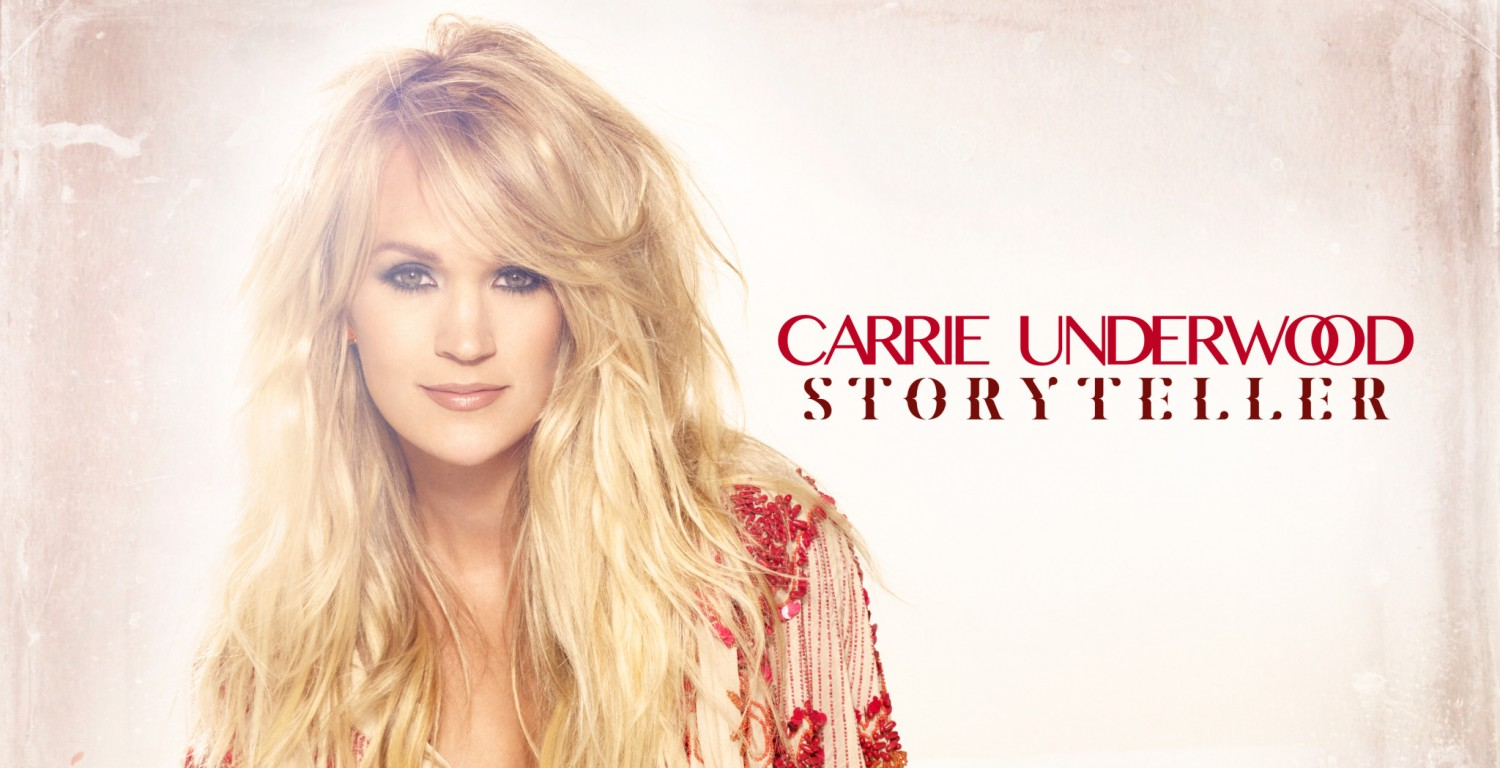 Carrie underwood reveals track listing for quot storyteller quot all