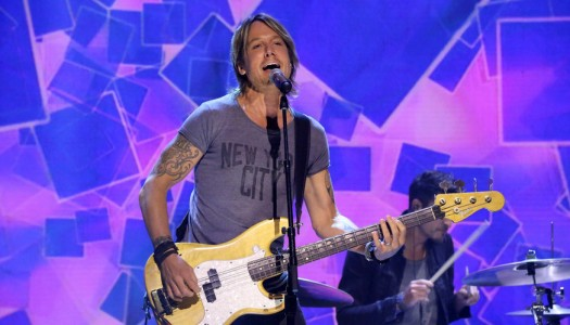 "Keith Urban's ""Blue Ain't Your Color"" Spends 10th Week At #1 On Hot Country Songs"