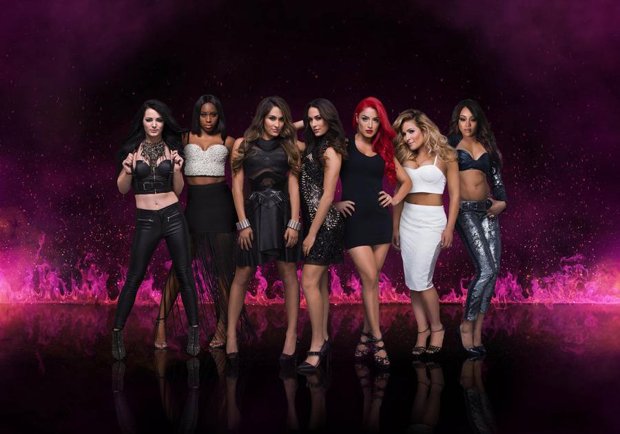 Wwe superstars alexa bliss carmella nia jax joining for Diva tv