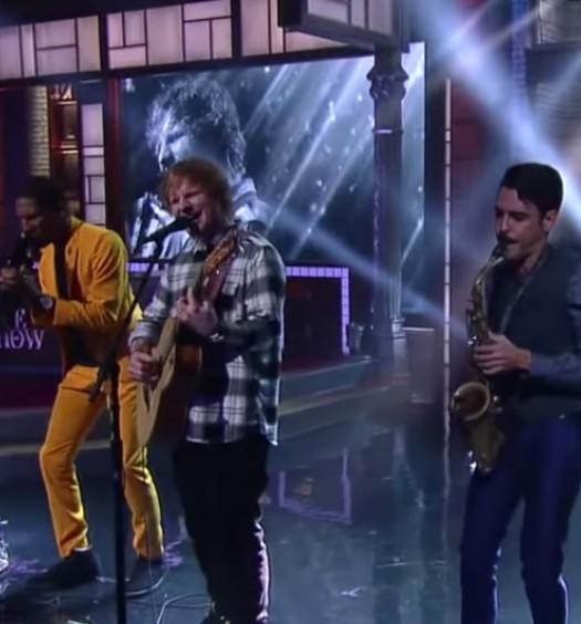 Ed Sheeran Colbert