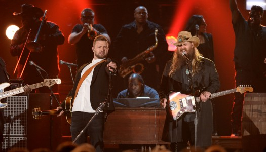 "Chris Stapleton's ""Traveller"" Wins Sales Race With 153K; Carrie Underwood, Eric Church Follow"