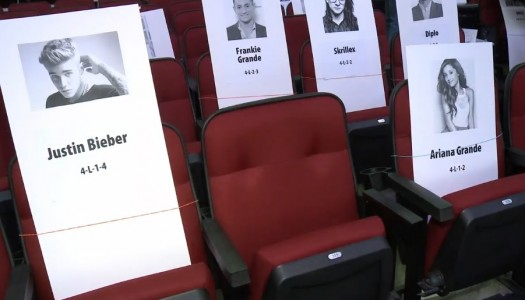 Cards Reveal Where Selena, Justin, Ariana, Carrie, 1D Will Sit At American Music Awards