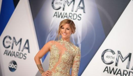 Red Carpet: Cassadee Pope, Lauren Alaina, Hayley Orrantia Arrive at CMA Awards