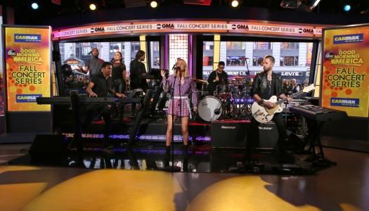 Ellie Goulding, BØRNS, Justin Timberlake, G-Eazy x Bebe Rexha Enter Pop Radio's Top 40