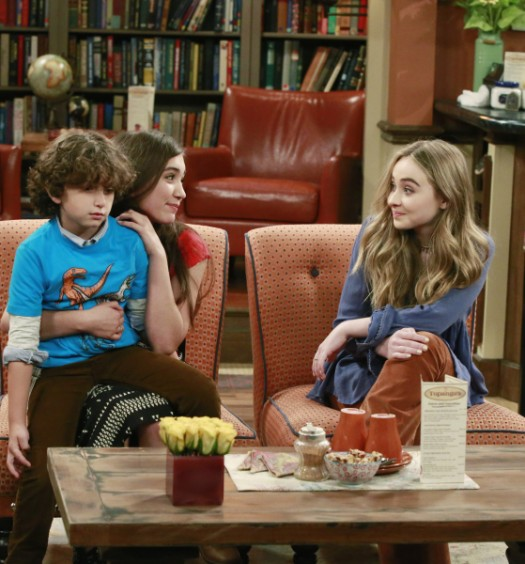 AUGUST MATURO, ROWAN BLANCHARD, SABRINA CARPENTER