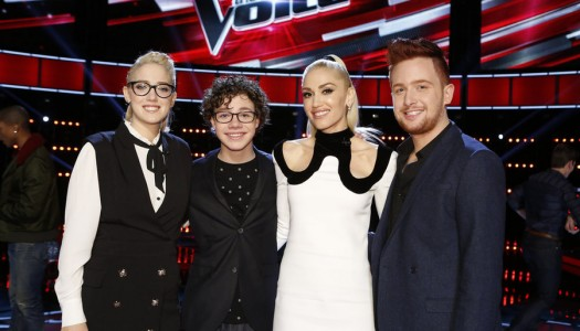 """Gwen Stefani, Sia Performing On NBC's """"The Voice"""""""