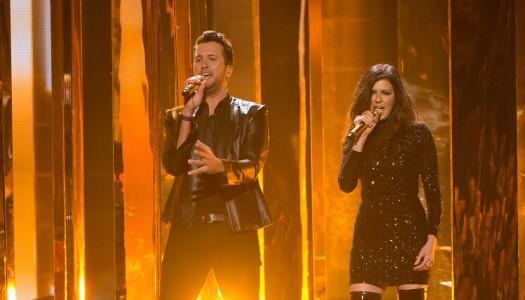 "Luke Bryan & Karen Fairchild's ""Home Alone Tonight"" Debuts On Bubbling Under Hot 100"
