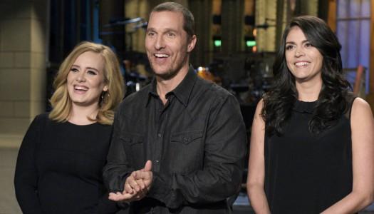 "Ratings: ""SNL"" Rises For Matthew McConaughey, Adele Episode"