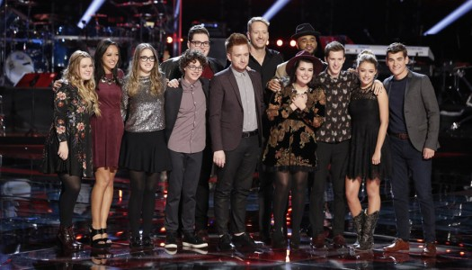 """""""The Voice"""" Reveals Final 12; Emily Ann, Mark, Korin, Amy Saved By Coaches"""