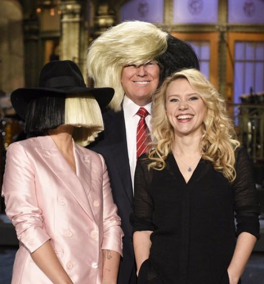 Sia Trump SNL [NBC]