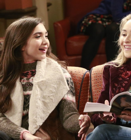 ROWAN BLANCHARD, SABRINA CARPENTER