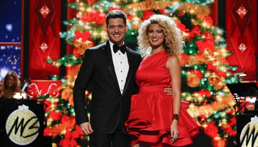 First Look: Tori Kelly, Celine Dion Perform On Michael Buble Christmas Special