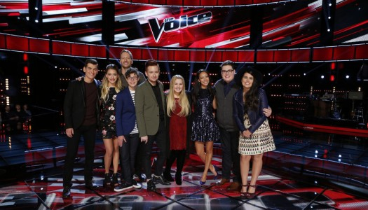 """Braiden Saved, Korin Eliminated As """"The Voice"""" Reveals Nine Semifinalists"""