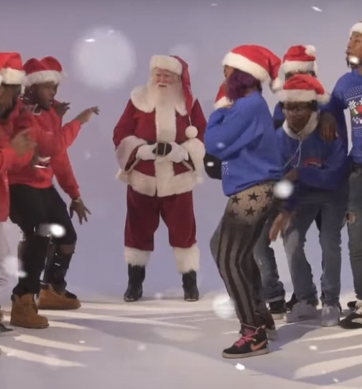 Dabbin Santa [2 Chainz' Watch Out]