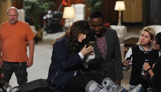 "Backstage Look: FOX's ""New Girl"" Returns For Season 5, ""Brooklyn Nine-Nine"" Moves"
