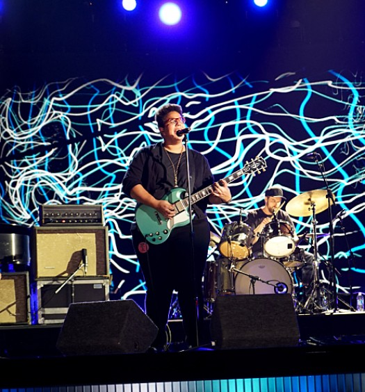 The Alabama Shakes rehearse for The 58TH ANNUAL GRAMMY AWARDS, to be held on Monday, Feb. 15, 2016 (8:00-11:30 PM, live ET) at STAPLES Center in Los Angeles and broadcast on the CBS Television Network. Photo: Timothy Kuratek/CBS ©2016 CBS Broadcasting, Inc. All Rights Reserved