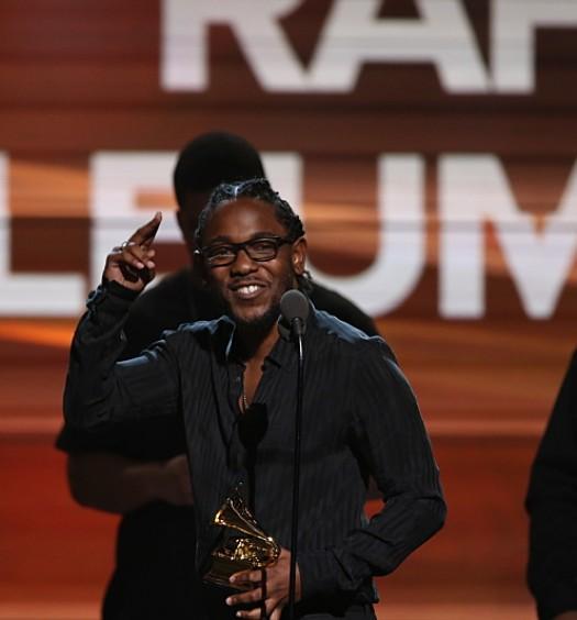 Kendrick Lamar [CBS]