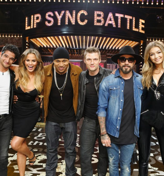 Gigi Hadid On Lip Sync Battle Video: Backstreet Boys Leading Emblem3 In Boy Band Album Sales Race