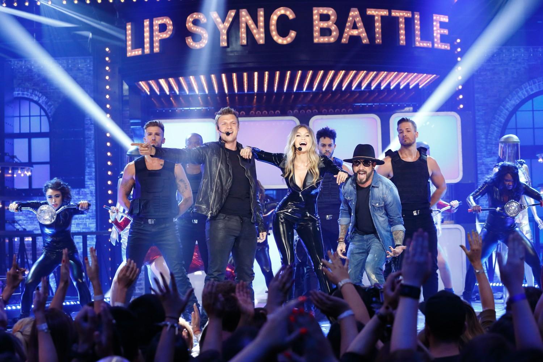 Gigi Hadid Gets some Backstreet Boys Backup on