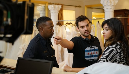 "Backstage Look: Jake Johnson Directs Tuesday's ""New Girl"" Episode"