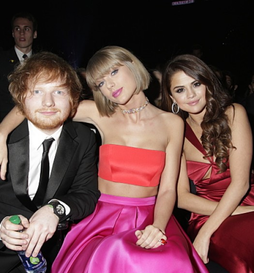 Sheeran Swift Gomez [CBS]